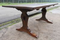 Solid Oak Refectory Dining Table to Seat Eight - SOLD